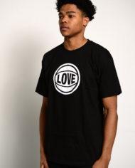 BBJ Love Tee Front – Black