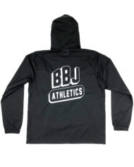 BBJ-Athletics-Anorak-Back-Black