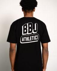BBJ Athletics Tee Back – Black