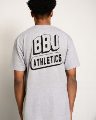BBJ Athletics Tee Back – Heather