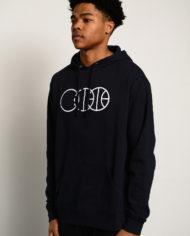 BBJ Icon Hoodie Front – Navy