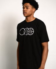 BBJ Icon Tee Front – Black